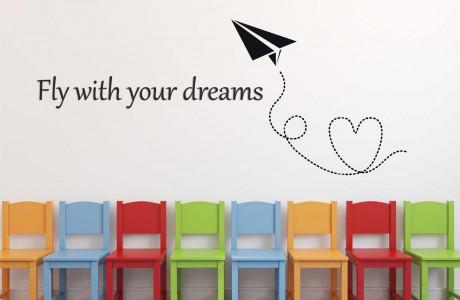 עוף עם החלומות שלך | Fly with your dreams