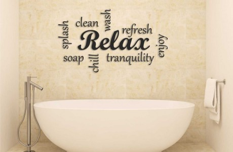 Relax (עם כיתוב מסביב)