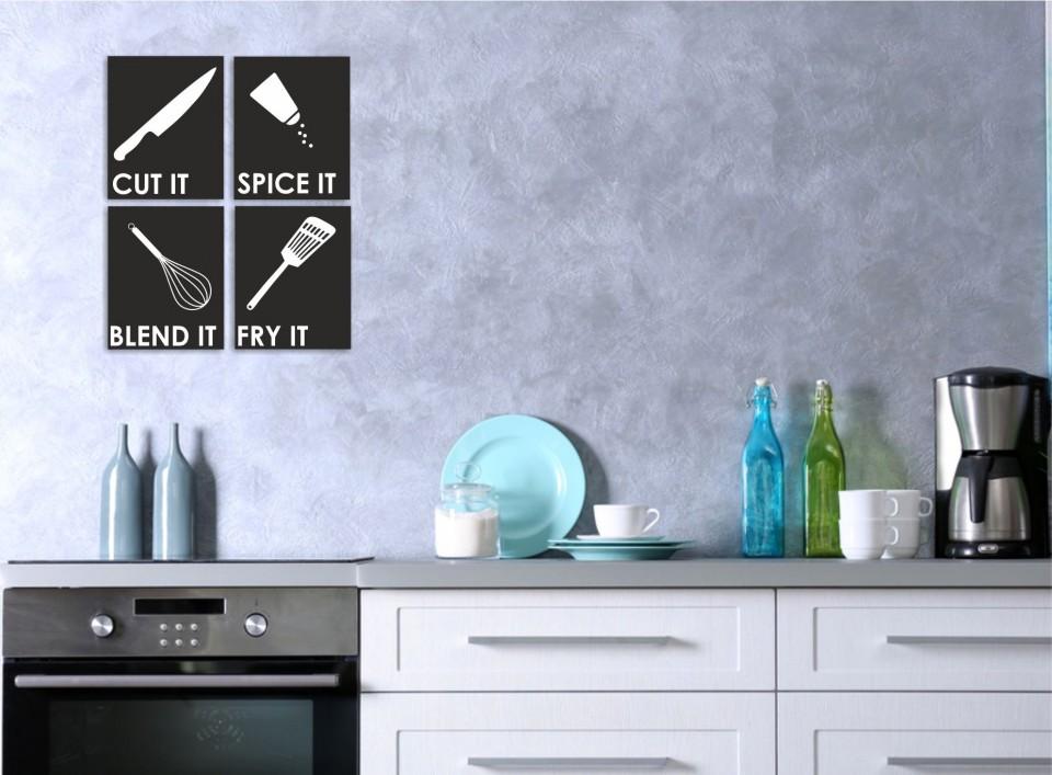 שלטים מעוצבים למטבח